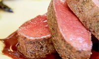 Sous-vide vlees- en visgerechten