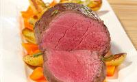 Sous-vide vlees / vis met groente