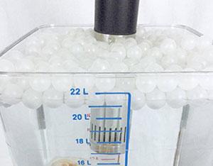 Sousvidekenner isolatieballen sous-vide sousvide isolatiekogels steam trapping balls