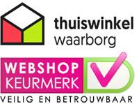 Niet één maar zelfs twee keurmerken: Thuiswinkel Waarborg en Webshop Keurmerk