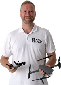 Our drone connoisseur is always ready for you with practical knowledge and experience of DJI drones.