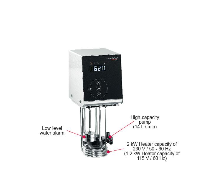 FusionChef Pearl S sous-vide machine with 19 liter bath
