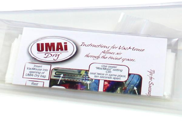 UMAi Dry® Dry-Aging Small 25x50cm bags (3 pcs) + VacMouse®