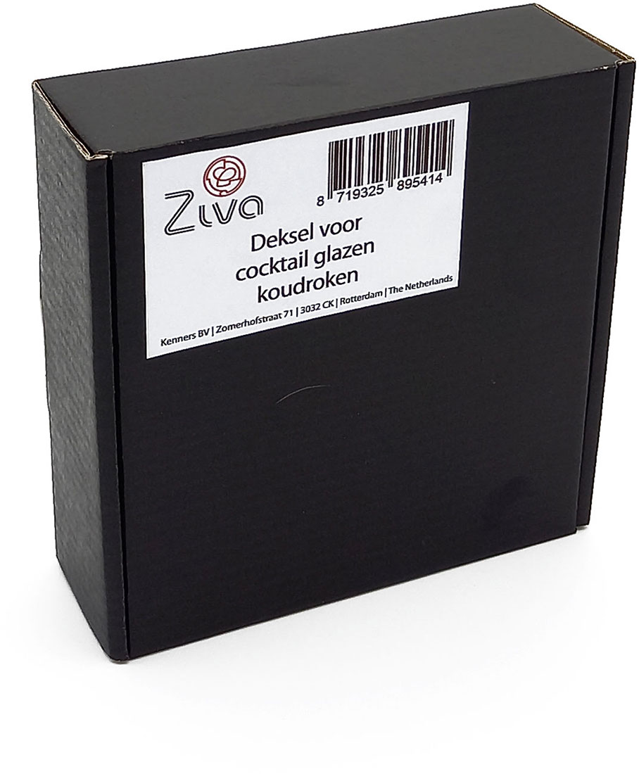 Ziva lid for cocktail glasses (cold smoking) - 3 pcs