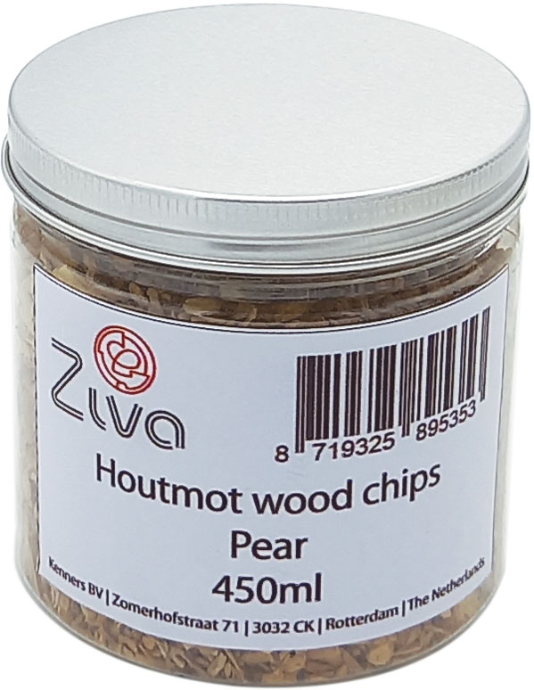 Houtmot wood chips Pear 450ml