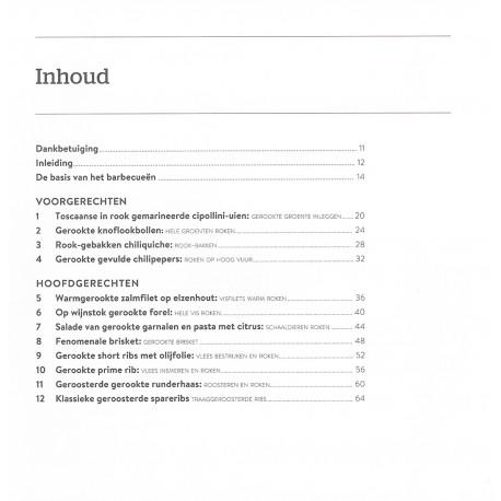 Dutch - Technieken & recepten voor het roken van vlees, vis, groente